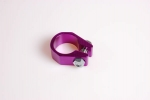 Freestyle zadelpenklem paars